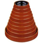 DX富士型すし桶 溜刷毛目  (寿司桶・ちらし桶)